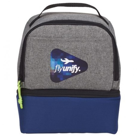 Custom Logo Two Way 9 Can Lunch Cooler