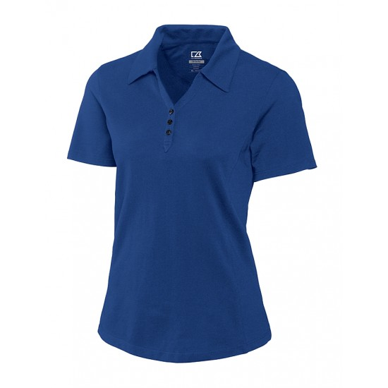 Custom Cutter & Buck Ladies DryTec Championship Polo Shirt - Plus Sizes Embroidered with Your Logo