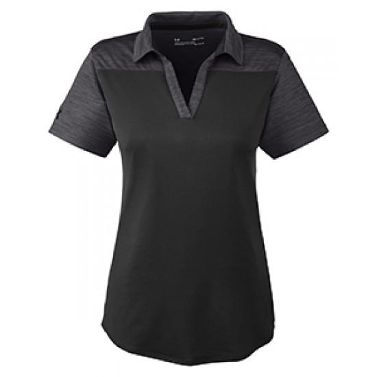 Custom Logo Embroidered Under Armour Ladies' Corporate Colorblock Polo