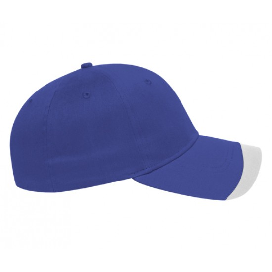 Structured Contrasting Wave Insert Golf Cap Embroidered with your Logo